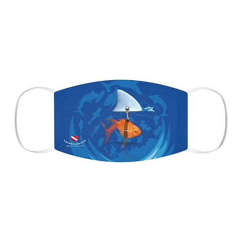 LoveScuba - Goldfish (Attitude) - Snug-Fit Polyester Face Mask