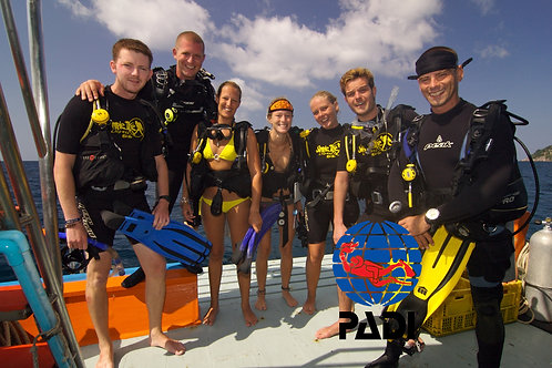 PADI OPEN WATER DIVER COURSE - Thailand, Simple Life Divers