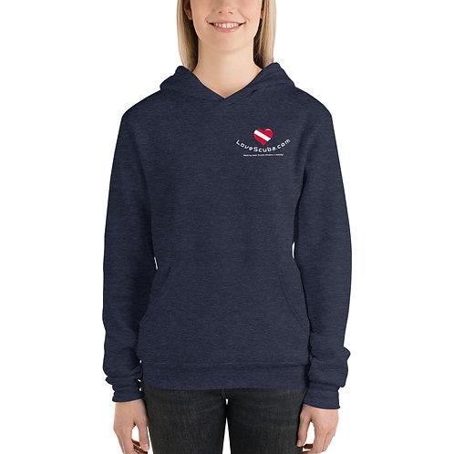 LoveScuba Unisex hoodie