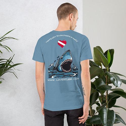 LoveScuba Jaws Edition Short-Sleeve Unisex T-Shirt