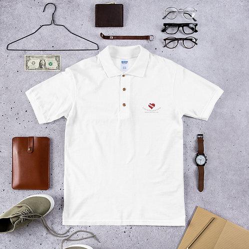LoveScuba Embroidered Polo Shirt