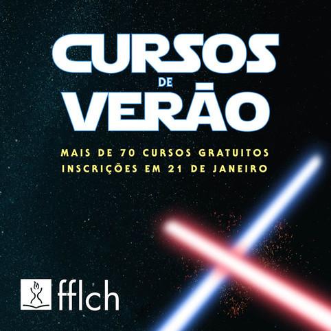 Divulgação dos cursos de versão, que coincidiu com a época de lançamento de um filme de Star Wars