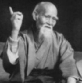 Morihei Ueshiba (O'Sensei)