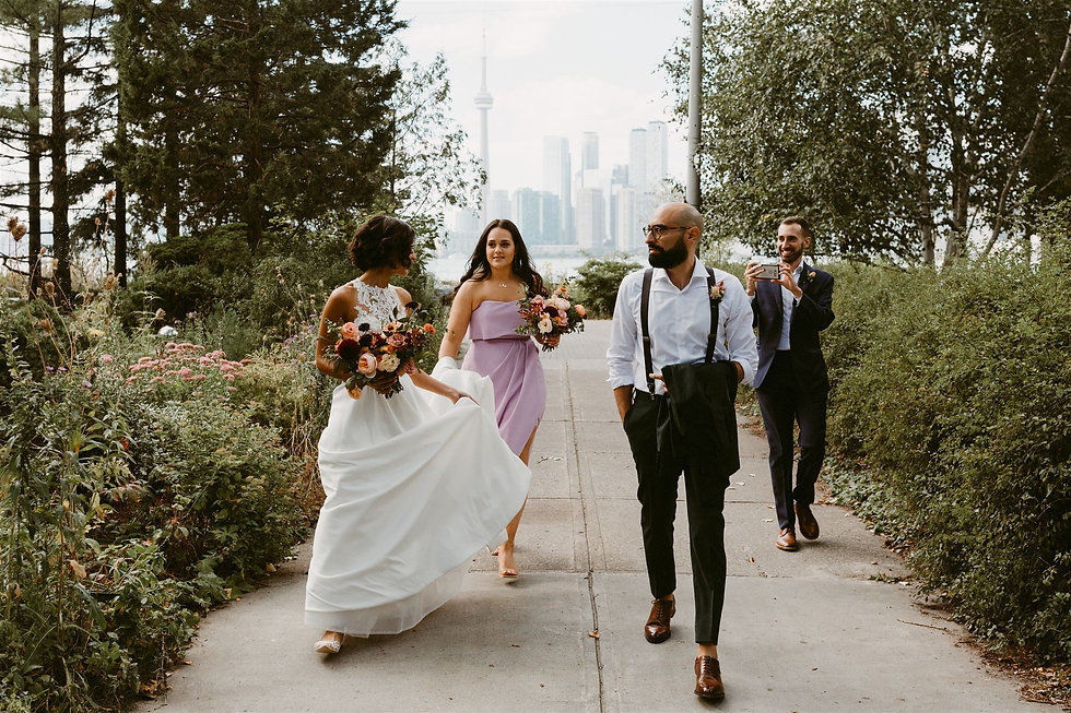 Toronto Wards Island Elopement Wedding-6