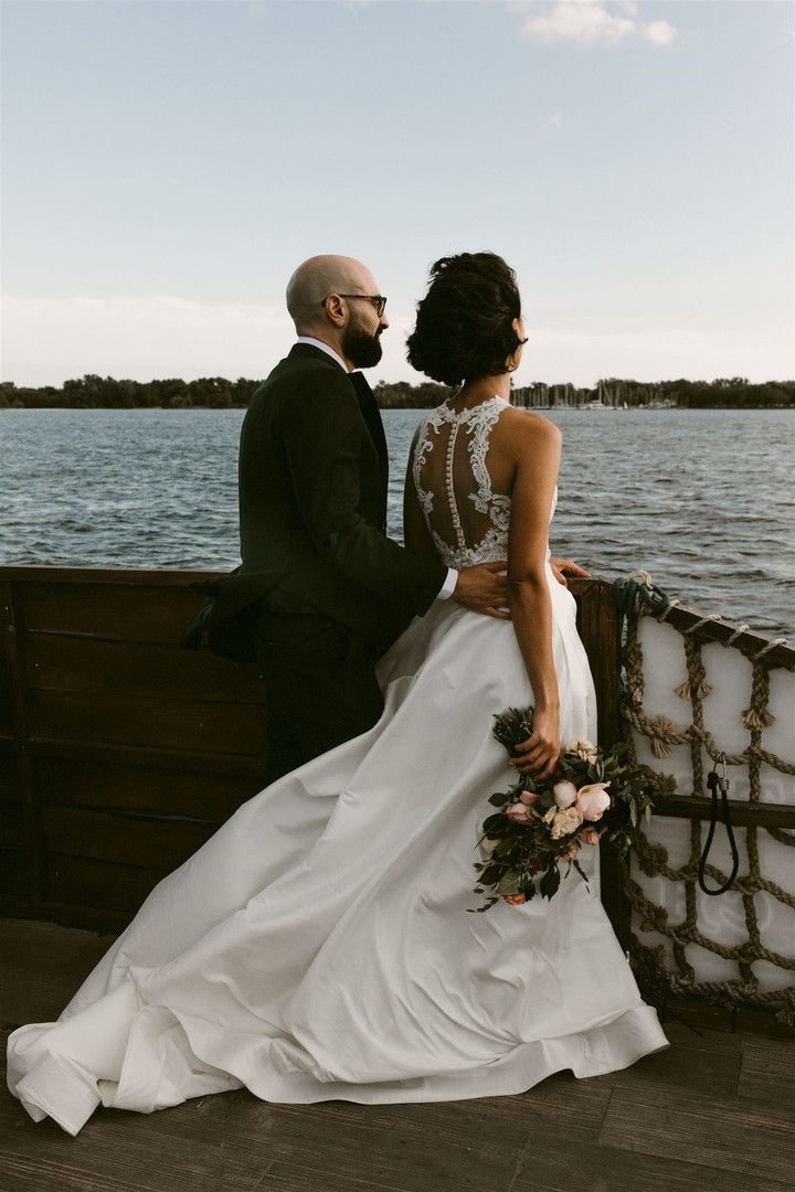 Toronto Wards Island Elopement Wedding-2