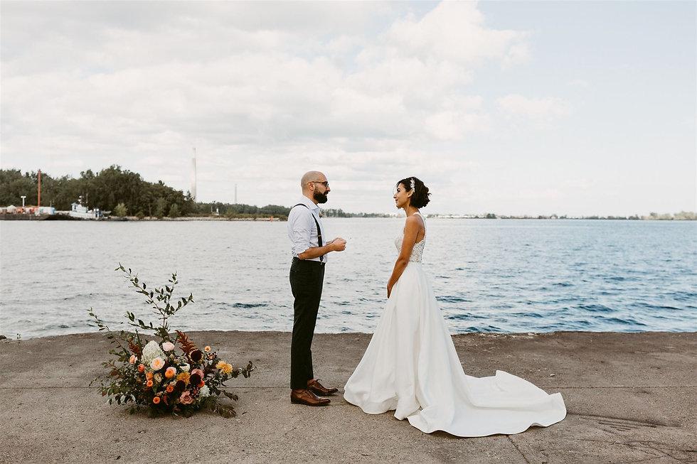 Toronto Wards Island Elopement Wedding-1