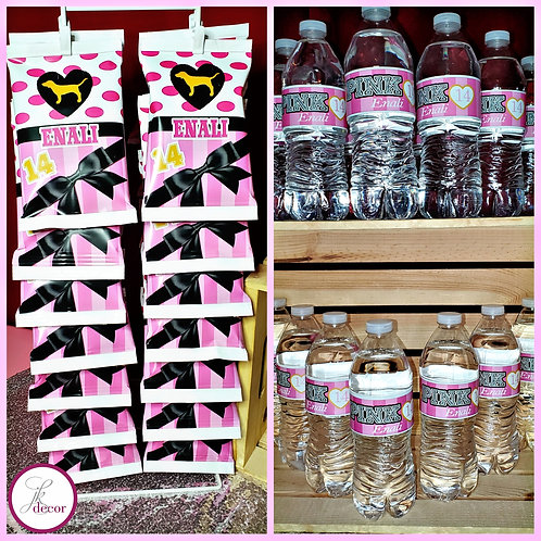 Party Favor Water Bottles