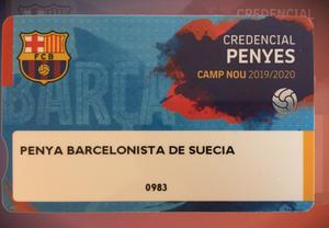 Futbol Club Barcelona förnyar förtroendet för Penya Barcelonista De Suecia