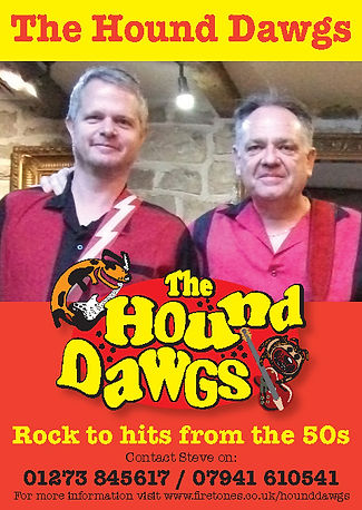 Hound Dawgs Flyer March 2021 (Steve & Ji