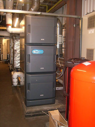 Commercial heating boiler