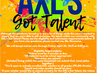 AXL's Got Talent! Virtual Talent Show