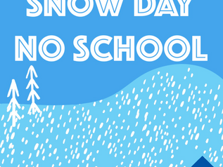 Snow Day | No school (Feb. 25)