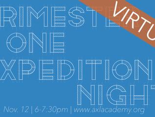 Expedition Night | Nov. 12