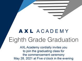 8th Grade Graduation   May 28