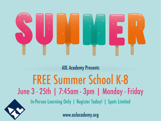 2021 Free Summer School Registration & Information