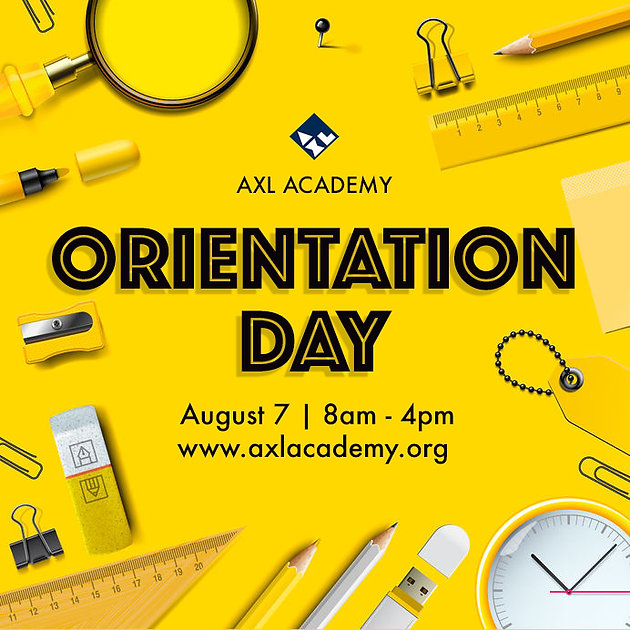 Orientation Day | Aug  7