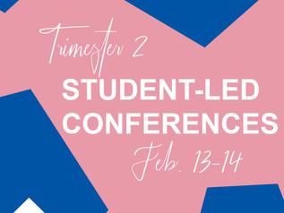 Trimester Two SLCs - Feb. 13-14
