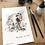 Thumbnail: 'You Okay Buddy?'  - Ink and watercolour painting