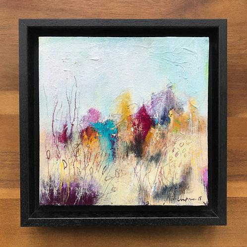 Abstract Landscape - 'Golden Grasses'