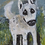 "Thumbnail: 'White Dog' - miniature Dog painting ACEO 2.5"" x 3.5"""