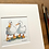 Thumbnail: 'Duck Besties #03' - mini painting of two white ducks
