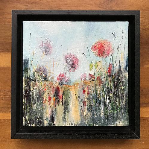 Impressionist Landscape - 'A Poppy Field'