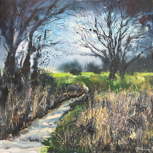 'The Common Path' - Impressionist English landscape