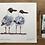 Thumbnail: 'Masked Gullmen' - A Seagull painting