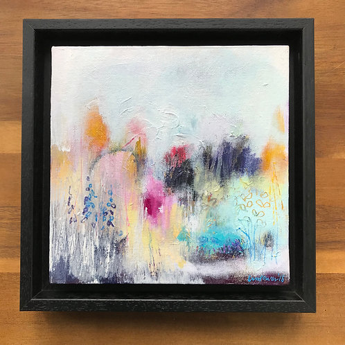 Abstract landscape - 'A Cottage garden #01'