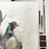 Thumbnail: A Ruffled Pheasant - Mixed media and charcoal drawing on paper - 50cm x 65cm