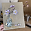 Thumbnail: 'Japanese Anemone' - Still life oil painting on unbleached canvas