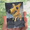 "Thumbnail: 'Happy Puppy' - miniature Dog painting ACEO 2.5"" x 3.5"""