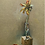 Thumbnail: 'Faded Dahlia' - Still life oil painting on unbleached canvas