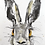 Thumbnail: Confused Hare charcoal and Ink wash drawing on paper  #06 - A5 148mm x 210mm