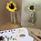 Thumbnail: 'Suflower' - Still life oil painting on unbleached canvas