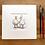 Thumbnail: 'My friend Tufty' - mini painting of two white ducks