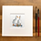 Thumbnail: 'Duck Besties #02' - mini painting of two white ducks