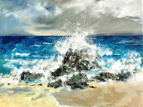 Seascape - Crashing Waves