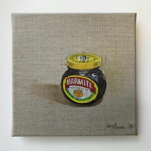 'Marmite' - Still life oil painting on linen
