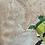 Thumbnail: 'Lego Monster' - Still life oil painting on prepared board