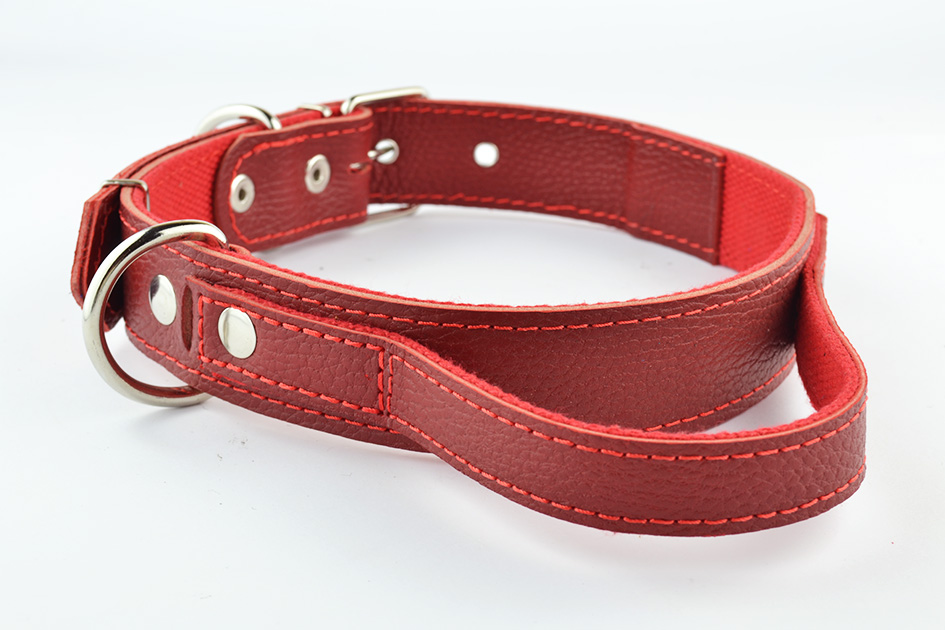 6550 Polycotton collar with handle