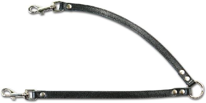 3300 Поводок-спарка кожаный