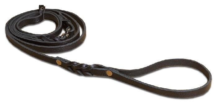 2440 Поводок-ринговка кожаный