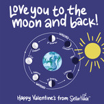 To the Moon and Back STEM Valentine