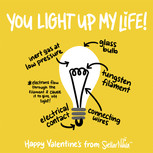 You Light Up My Life STEM Valentine