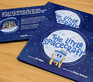 The Little Spacecraft kids book
