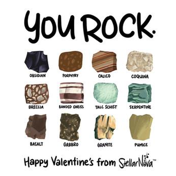 You Rock STEM Valentine