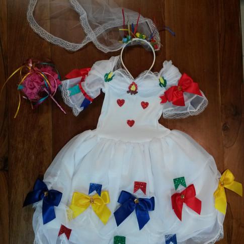 Vestido Noivinha Infantil