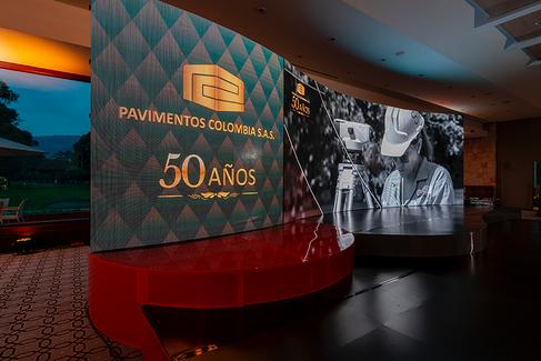 Celebración en Bogotá de la Firma Colomb