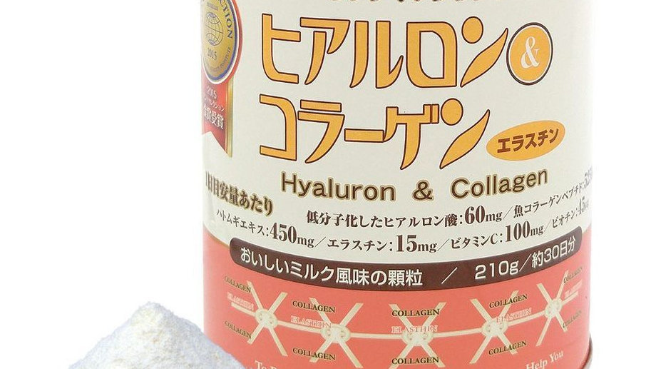 Hyaluron and Collagen